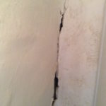Crack in our wall - middle and top